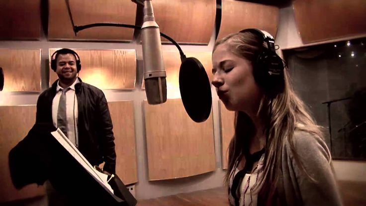 """Jumaane Smith and Jackie Evancho - The making of """"La Vie En Rose"""" - promoting Jumaane's new album """"I Only Have Eyes For You"""""""