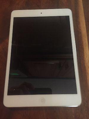Apple iPad mini 1st Generation 16GB Wi-Fi  Cellular (AT&T) 7.9in - White &...