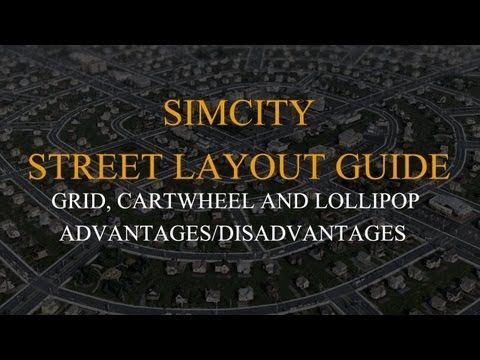 Simcity Street Layout Guide