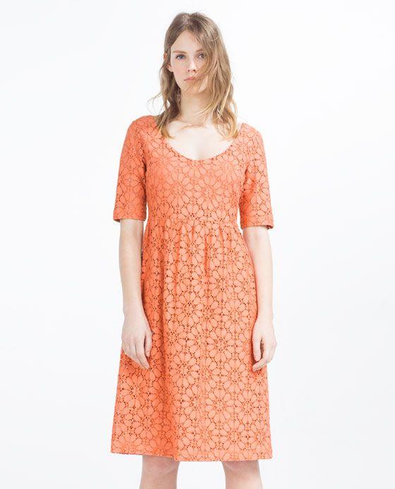 ZARA - COLLECTION SS16 - MID-LENGTH DRESS