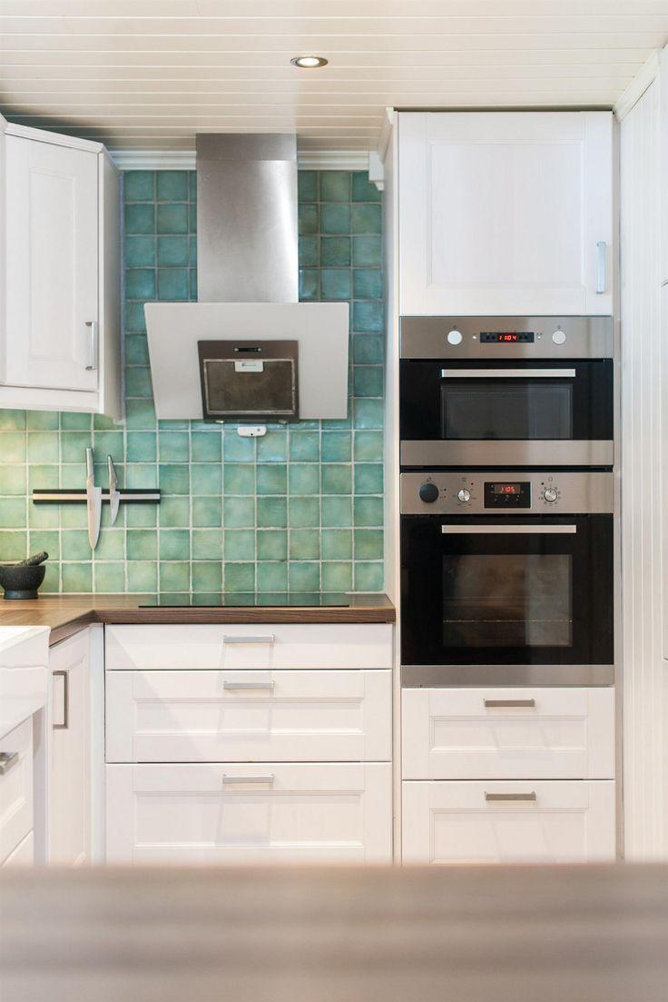 Columna horno microondas - 8 Ideas que podemos robar de las mejores cocinas pequeñas