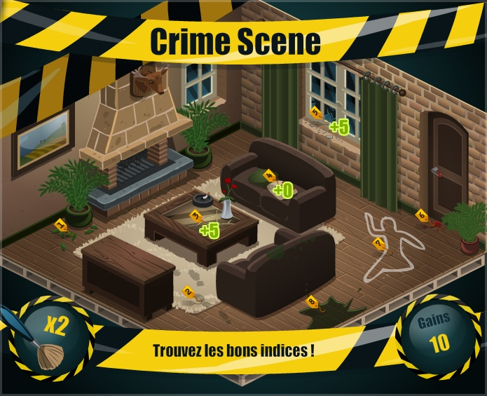 Mini-game Crime Scene - La Riviera