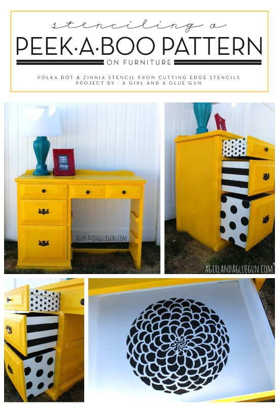 How to make your furniture unique. Paint a peek-a-boo pattern in drawers. (scheduled via http://www.tailwindapp.com?utm_source=pinterest&utm_medium=twpin&utm_content=post94118181&utm_campaign=scheduler_attribution)