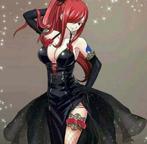 Strong yet delicate and beautiful// Erza Scarlet