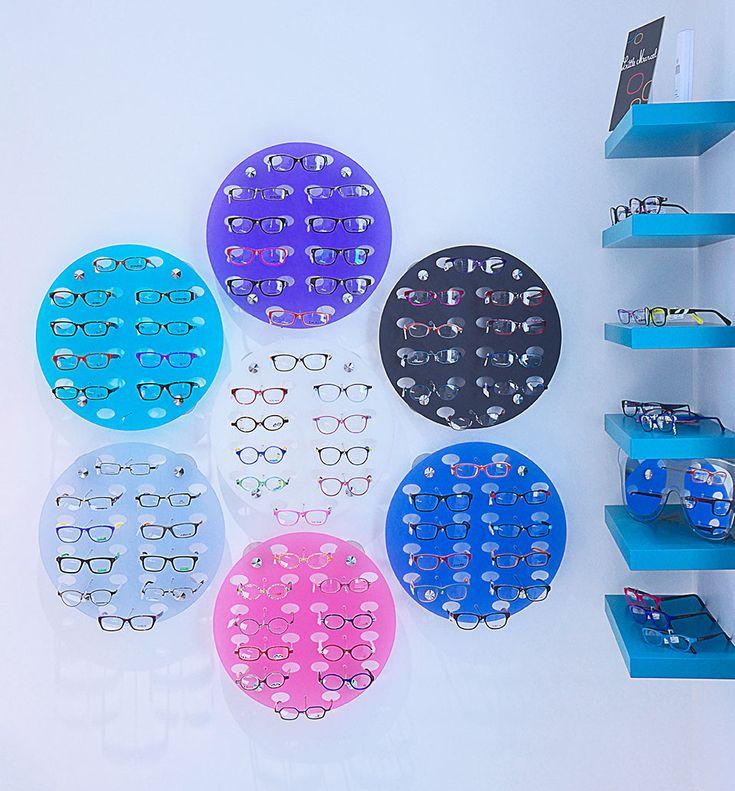 Optique | showroom JCDA Agencement du magasin Optique Chatel (17) - espace enfant