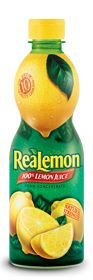 ReaLemon Bottled 100%Lemon Juice from concentrate.