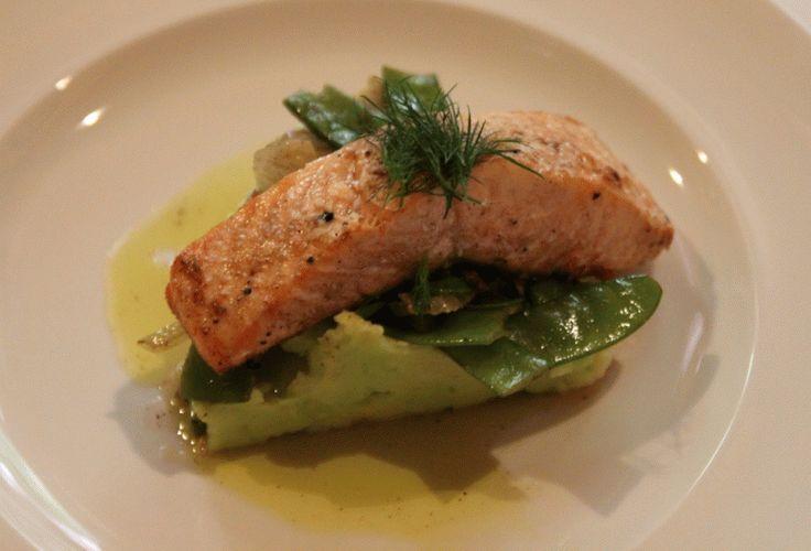 Grilovaný losos #salmon