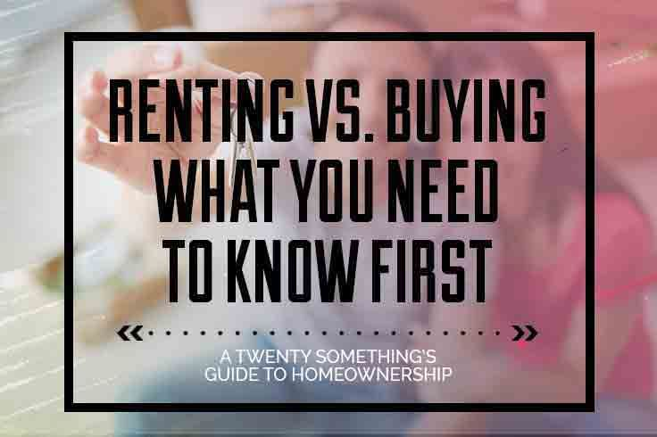 The pros and cons of renting or buying your first place. Our take away's and advice for anything contemplating the decision!