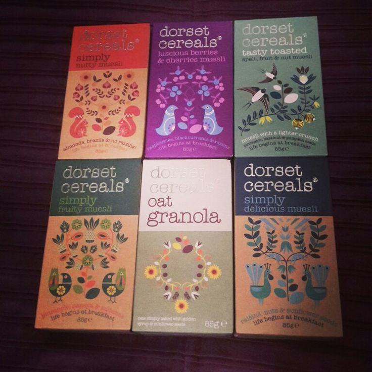 Mini #dorsetcereals now I'm a saddo #healthiswealth #packaging #branding