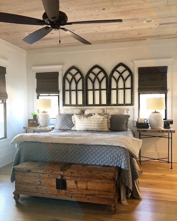 Master Bedroom Is Usually The Largest Room In The House Sometimes It Is Also Eq Modern Farmhouse Master Bedroom Remodel Bedroom Farmhouse Master Bedroom