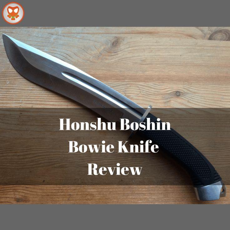 Honshu Boshin Bowie Knife Review