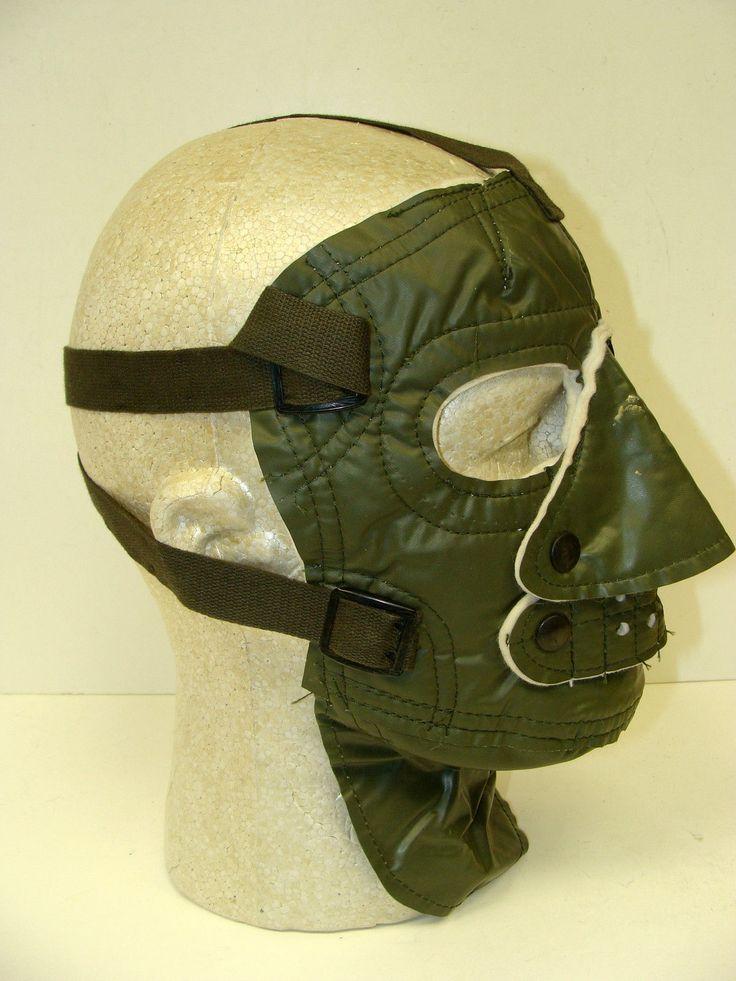 U s Navy Oil Cloth Cold Weather Face Mask Mint | eBay