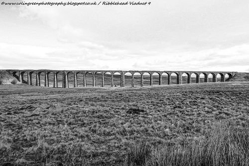 Colin Green Photography: The Ribblehead Viaduct, North Yorkshire.
