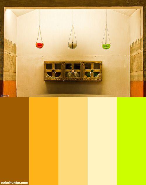 La Catedral De Cuernavaca - Mexico - Mexico-133 Color Scheme
