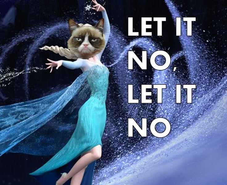 grumpy cat frozen meme - Google Search