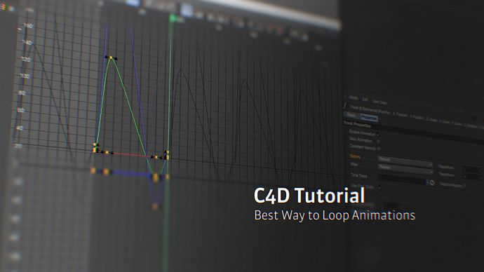In this quick tip video, Joren Kandel demonstrates an easiest way to loop animations using F-Curves and the Before and After options in Cinema 4D.