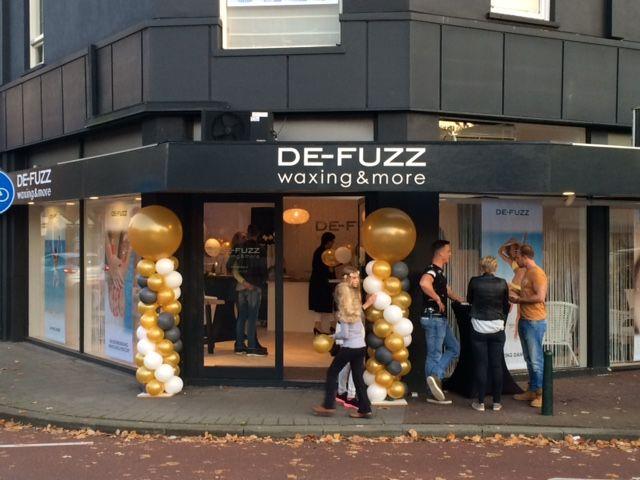 Het nieuwe pand van DE-FUZZ op de hoek Kerkstraat-Brinklaan in Bussum.