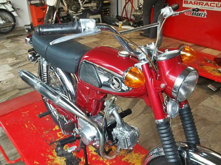 #restored  #HONDA #SS50V #motorcycle 1971 model https://www.facebook.com/biketherapypatras and http://www.biketherapypatras.gr/