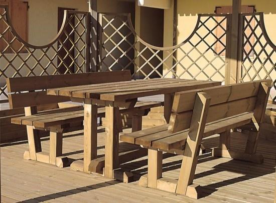 Oltre 25 fantastiche idee su panca da tavolo su pinterest - Tavolo pic nic ikea ...