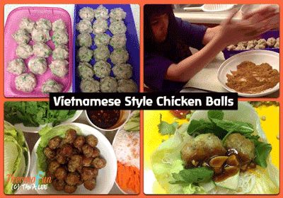 Post image for ThermoFun – Member Spotlight – Vietnamese Style Chicken Balls