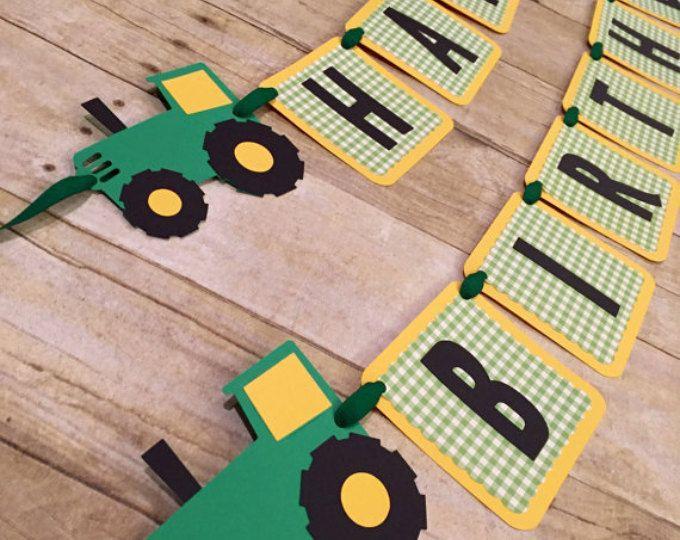 Fabuleux Les 25 meilleures idées de la catégorie Tracteur anniversaire sur  FY06