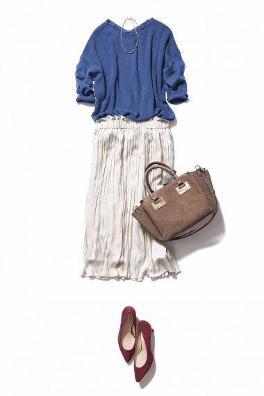 エアリーなプリーツスカートがあれば秋コーデは上手くいく! ― A-ファッションコーディネート通販 ビストロ フラワーズ トウキョウ