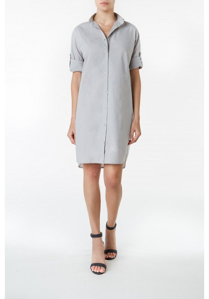 Organic Cotton Shirt Dress from THE-ACEY