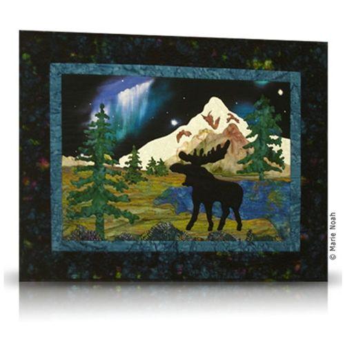 20 best Quilt Patterns images on Pinterest | Circles, Fairbanks ... : moose quilt pattern - Adamdwight.com