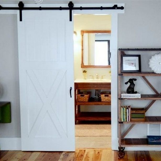 Traditional Interior Decor From Beach Break House Transition Idea Among Pocket Sliding Barn Door As Room Divider Design