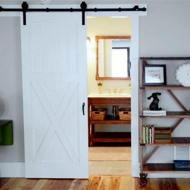 Traditional Interior Decor From Beach Break House Transition Idea Among Pocket Sliding Barn Door As Room Divider Design
