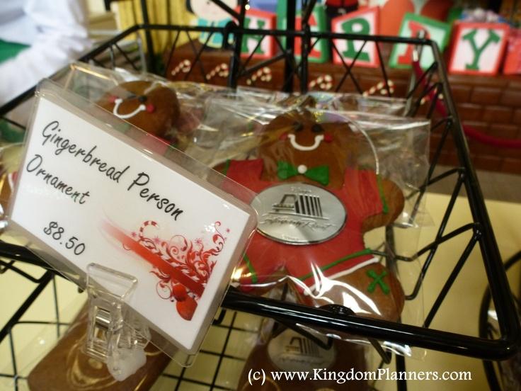 Gingerbread Person Ornament Contemporary Resort, Walt