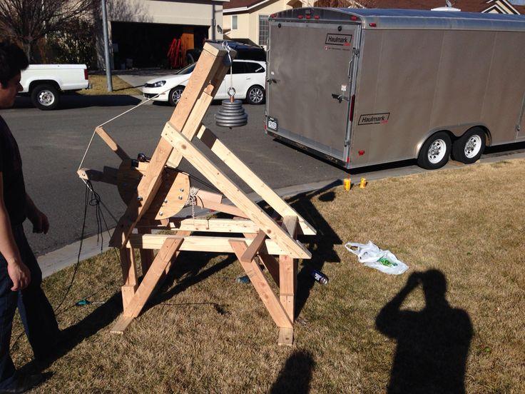 Murlin Trebuchet Design Plans Woodworking Projects Plans