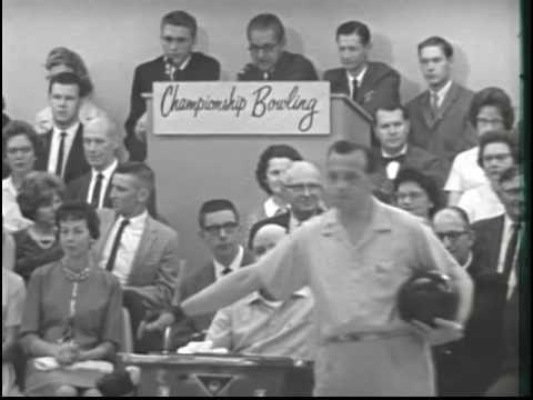 Championship Bowling (1963). Jim Schroeder vs. Pat Patterson.
