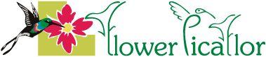 Logotipo de la florería en Lima Perú