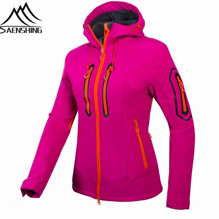 Newest Outdoor Softshell Jacket Women Hiking Jacket Waterproof Windproof Thermal Jacket For Hiking Camping Ski Jackets Women for just US $49.00