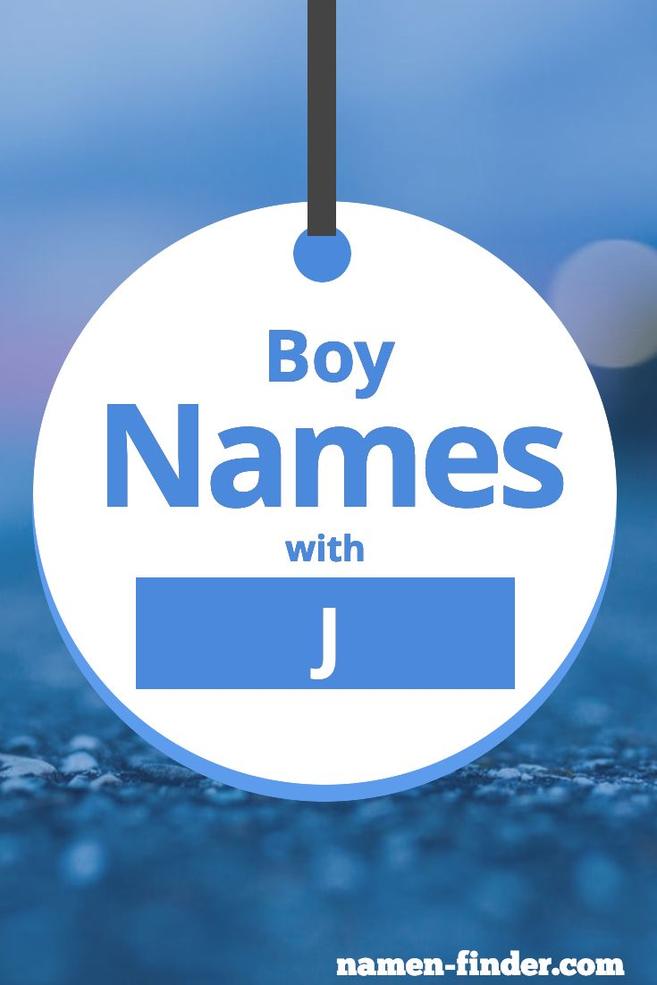 Jungenname Mit J