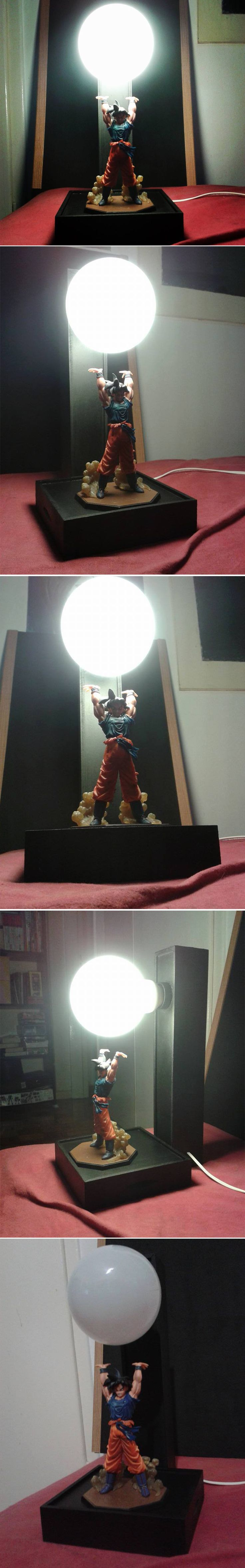 Incredible Dragon Ball Z Goku Lamp