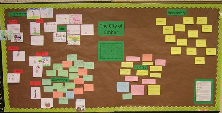 The City of Ember Bulletin Board