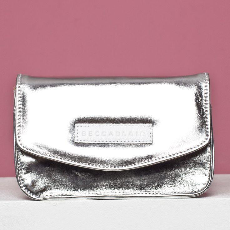 The Silver Leather Jake bag - Made in South Africa.