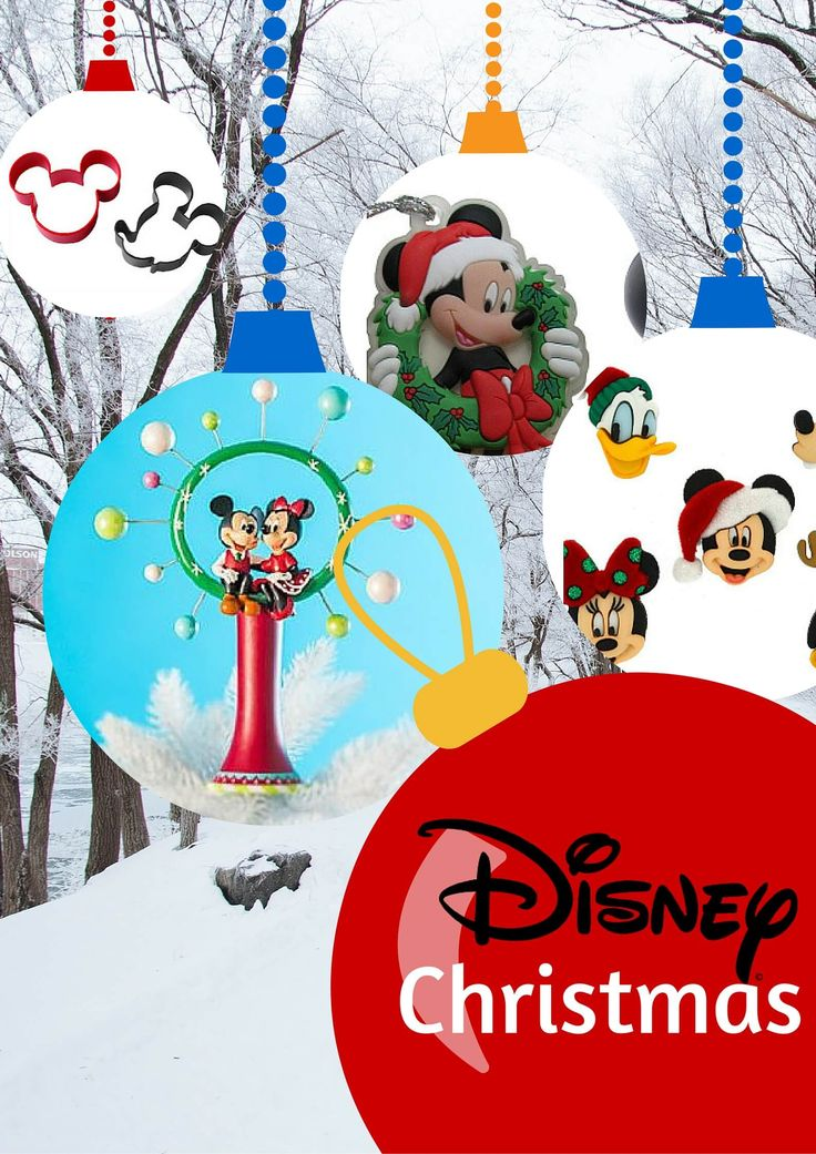A Disney Christmas – Mickey Mouse Christmas Decorations