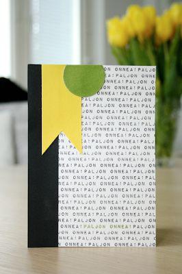 Onnittelukortti miehelle / Greeting card for man