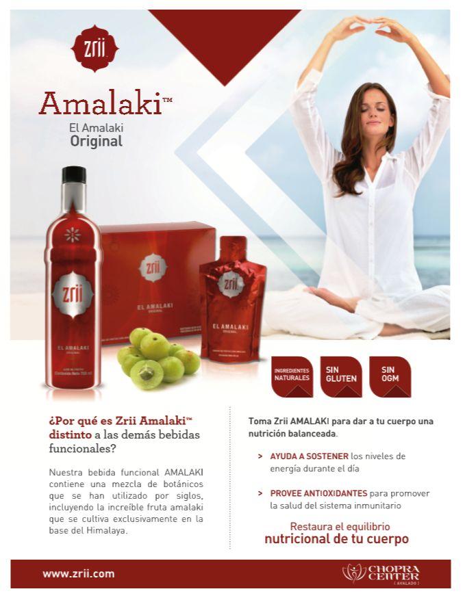 Toma Zrii Amalaki para dar a tu cuerpo una nutrición balanceada. Compra en www.yanopa30.myzriipro.com