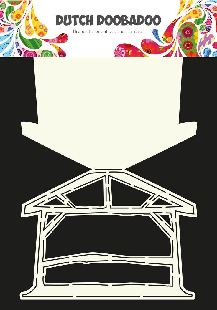 470.713.612 Dutch Doobadoo Card Art Kerststal