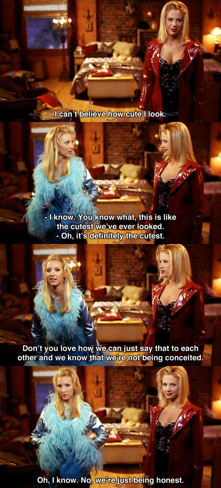 I can't believe how cute I look ~ Romy and Michele's High School Reunion (1997) ~ Movie Quote #amusementphile