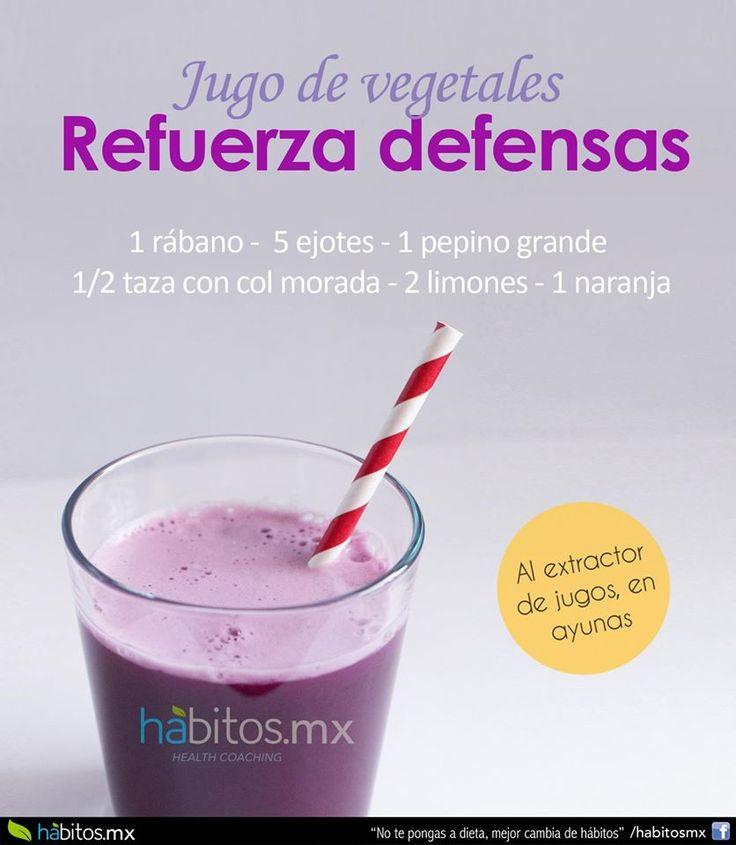 Hábitos Health Coaching | JUGO DE VEGETALES REFUERZA DEFENSAS