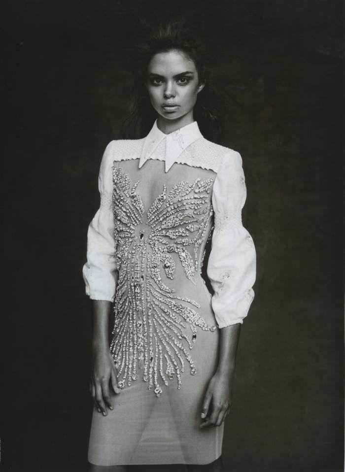 Samantha Harris in Miu Miu for Vogue Australia March 2010