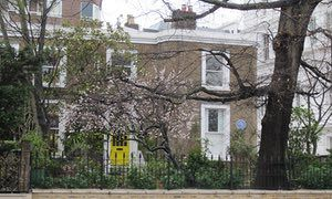 'Growing up in JM Barrie's house in Bayswater, London, where Wendy and her family lived.' By Louisa Young. -- an article via The Guardian, May 2016.