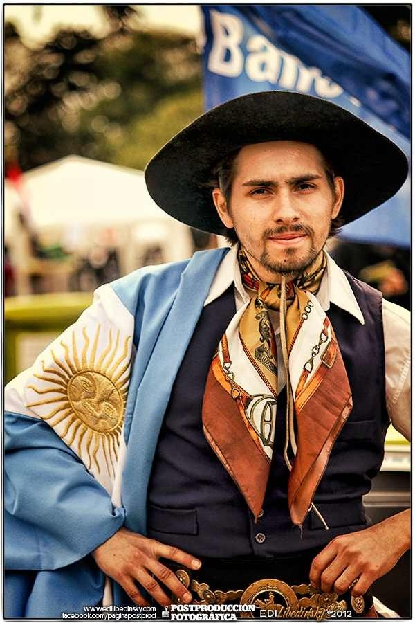 Fiesta de los Inmigrantes en el Planetario. 2012 - This would be a Good Looking Gaucho.