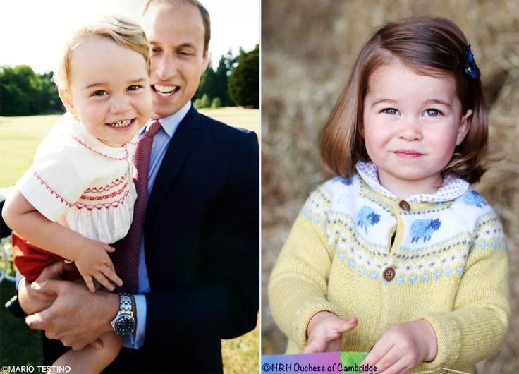 whatkatewore: Turning two-Prince George in 2015 and Princess Charlotte in 2017