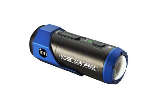 iON Air Pro  This tech device supports video up to full HD 1920 x 1080p at 30 frames per second. Its waterproof 5MP camera's capability is not suitable for diving but is perfect for surfing, swimming, hiking, skydiving and biking.